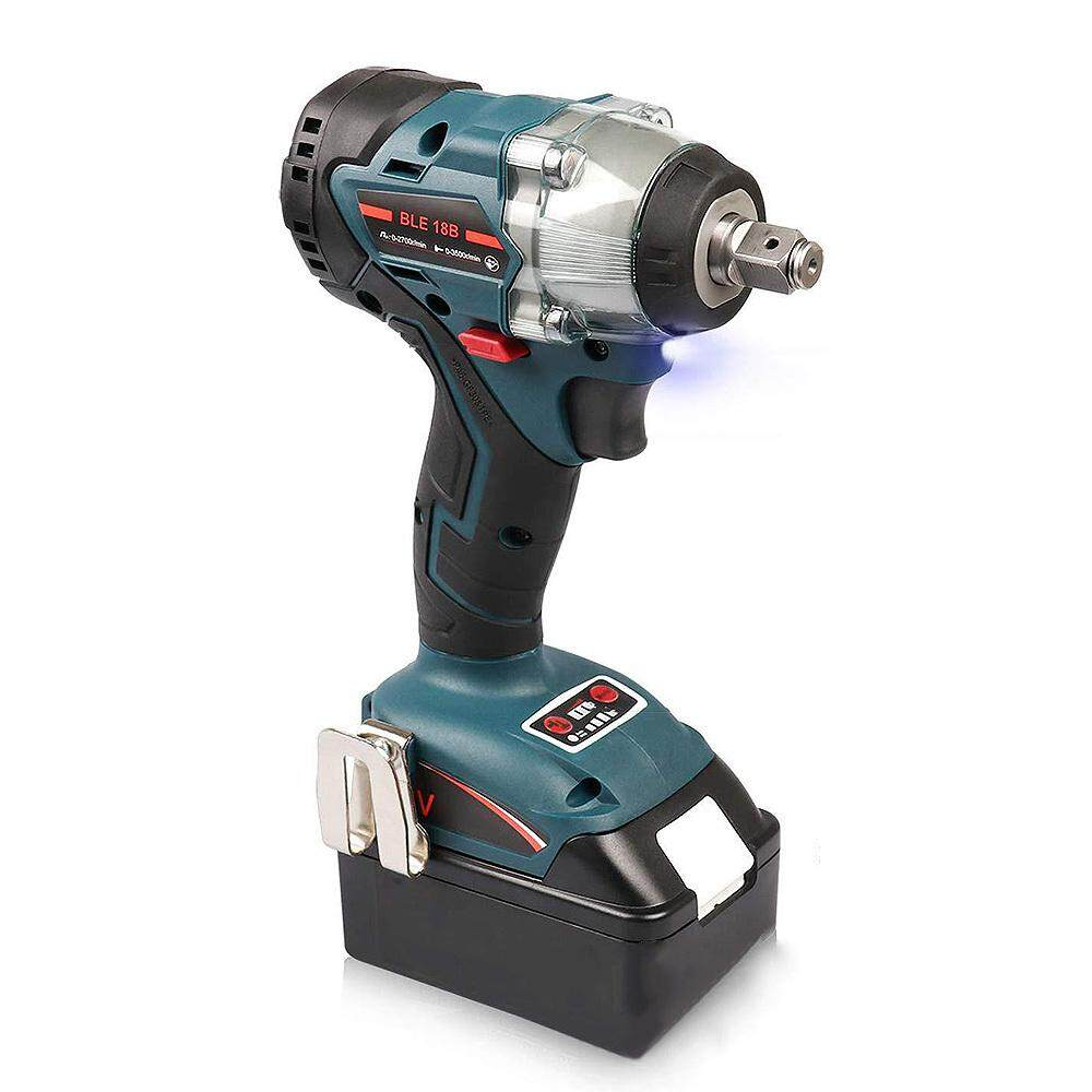 [Yulikeit]Replacement 18V Brushless 1/2 Inch Impact Wrench for Makita DTD152 DTD170