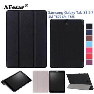 Ốp Lưng Thông Minh SM-T820 T825, Ốp Đứng Tự Động Lật Folio Vỏ Kim Loại Từ Tính Cho Máy Tính Bảng Samsung Galaxy Tab S3 9.7 Inch thumbnail