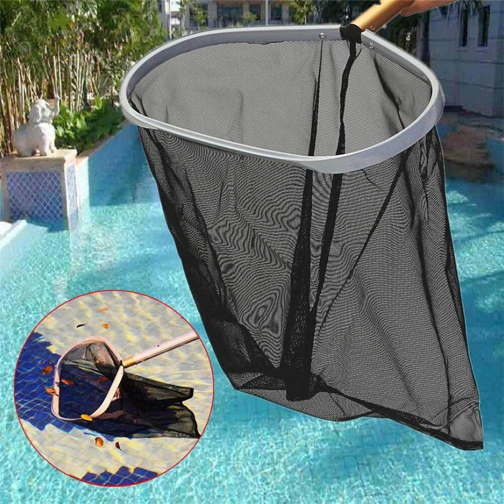 Portable Black Professional Swimming Pool Aluminum Frame Fine Mesh Cleaning Net