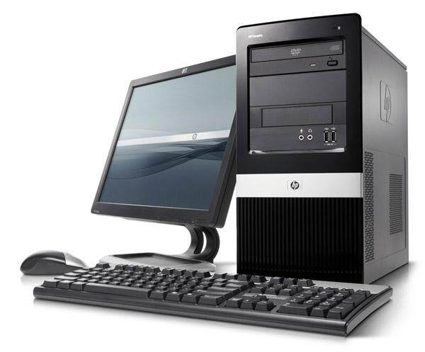Full Set Pc Hp Pro 3000 Tower Intel Core 2 Duo 2.93ghz/hdd250gb/ram 4gb Ddr3/window 7/lcd 17 Square/keyboard/mouse By Ajesolution.