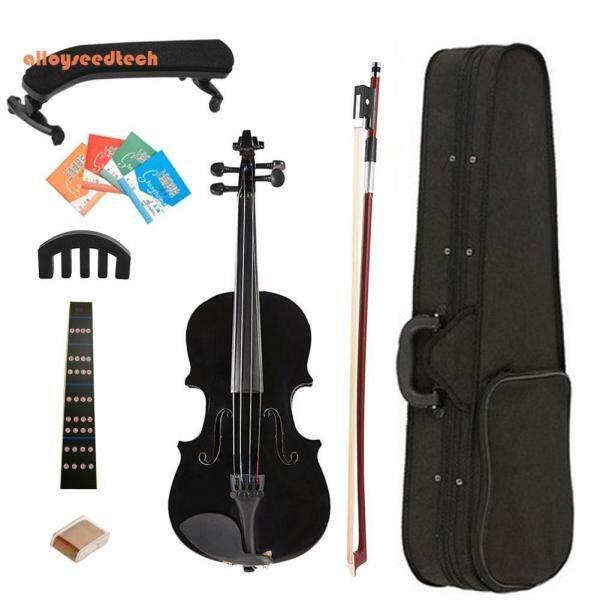 Bán Chạy Bộ Đàn Violin Nẹp Đàn Violin Âm Thanh Sáng W/Ốp Rosin Bộ Dụng Cụ Tập Giảm Thanh Cung