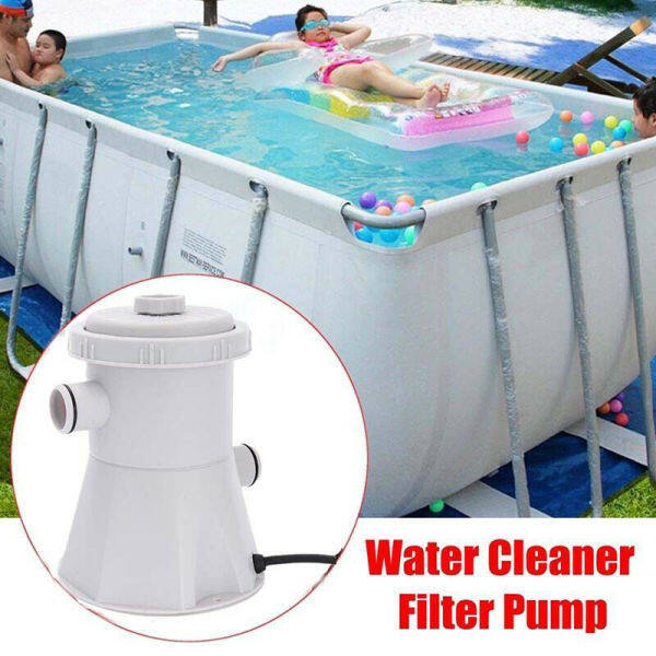 【Power Water Pump Tool】220V Electric Swimming Pool Filter Pump Water Cleaning System Above Ground Pools