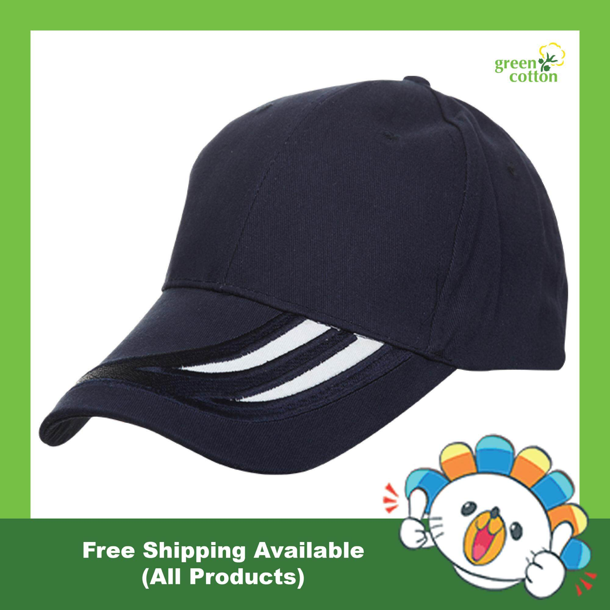22889e5a Men's Ladies Best Seller Quality Cotton Brush Outdoor Hat Casual Sports  Wear Baseball Cap Curve Visor