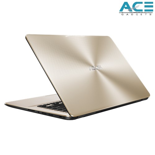 Asus Vivobook X505B-ABR395T / X505B-ABR441T Notebook *Gold/Grey* (A4-9125/4GB DDR4/500GB HDD/ATI/15.6 HD/Win10) Malaysia