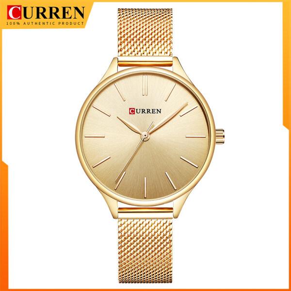 CURREN Hot Fashion Simple Style New Ladies Bracelet Watches Women Dress Wristwatch Quartz Female Clock 9024 Malaysia