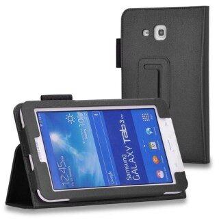 Tương Thích Với Samsung Galaxy Tab 3 Lite 7.0 T110 T111 T113 Ốp T116 Ốp Đứng Gập Mỏng Bằng Da PU thumbnail
