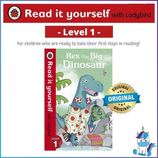 Ladybird Read It Yourself Level 1 - Rex the Big Dinosaur Malaysia