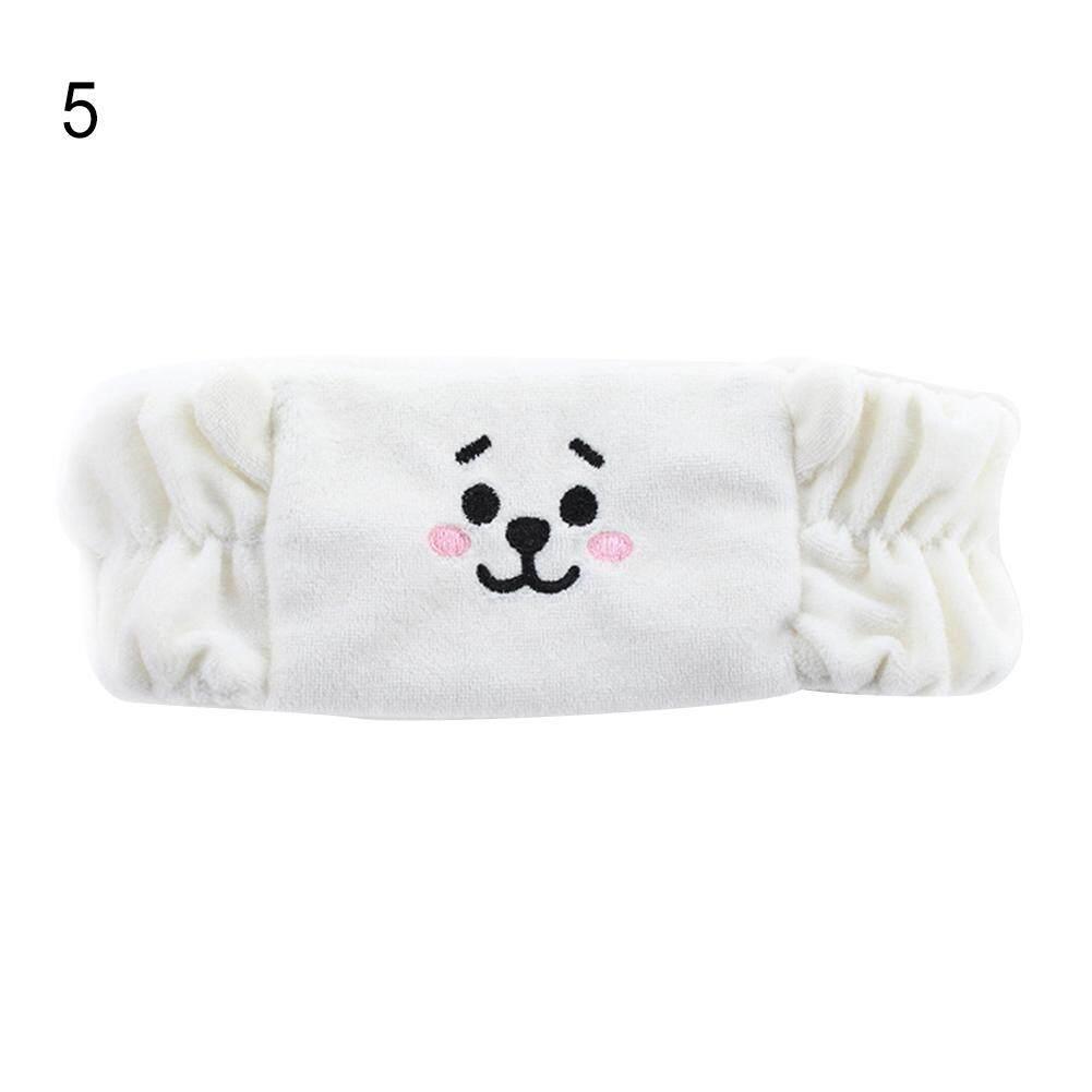 Mua WISTIC Kpop BTS BT21 Chimmy TATA Cooky Thun Đô Rửa Trang Điểm Làm Sạch Đầu