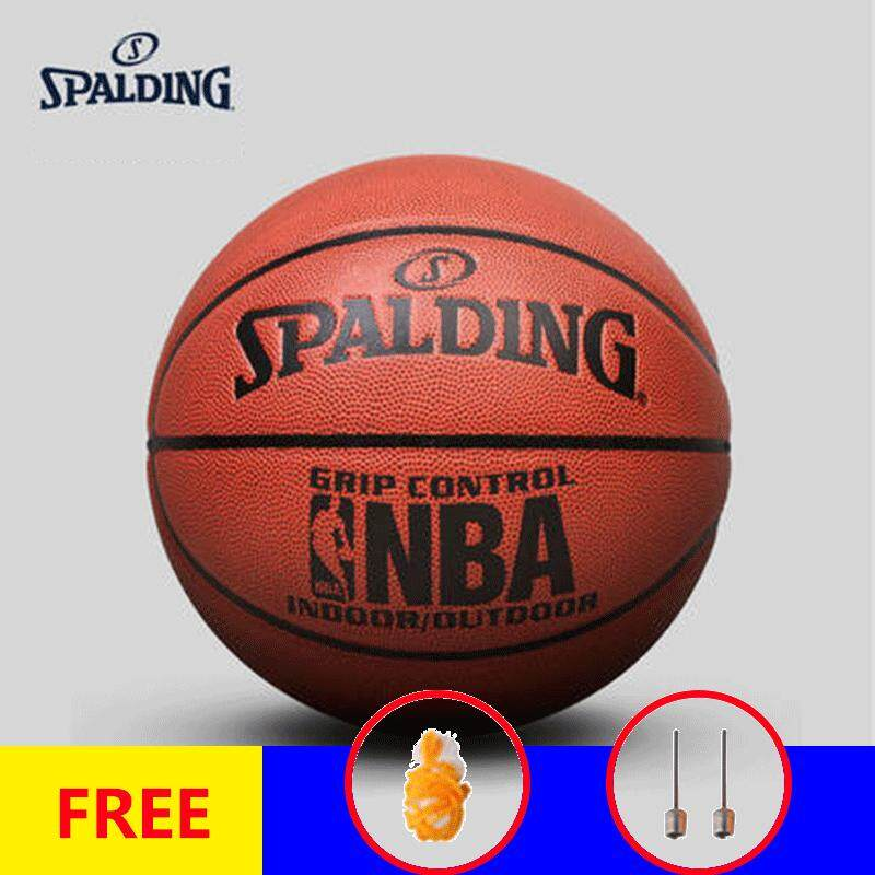 16d1afe9386 (Free With Net and Needle)Spalding 74-604Y Basketball Ball PU Materia  Official