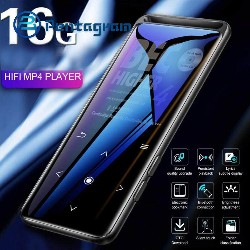 BENJIE M6 MP3 Player 16 GB Bluetooth 5 0 Lossless HiFi Portable Audio  Player with FM Radio E-Book Voice Recorder MP3 Music Player