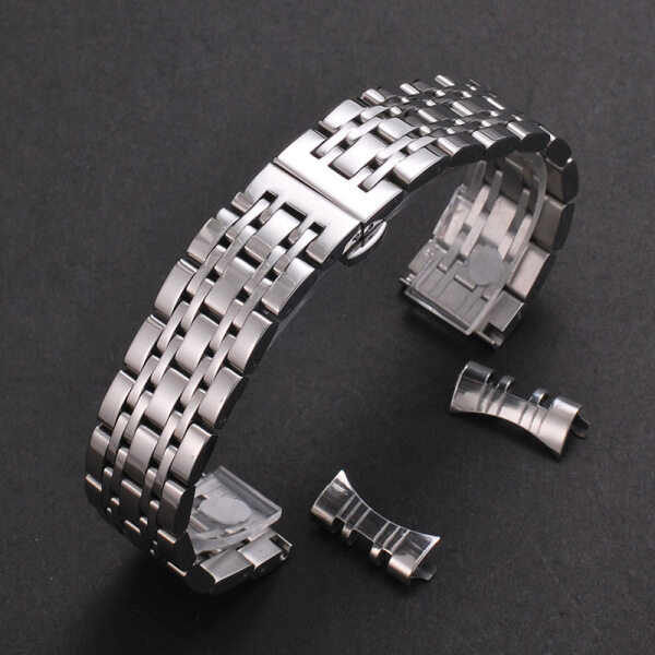 LANGLEY Solid 304L Stainless Steel Replacement Watch Band for Armani Watch 12 13 14 16 17 18 19 20 21 22 23 24mm Width Wristband Watch Straps Malaysia