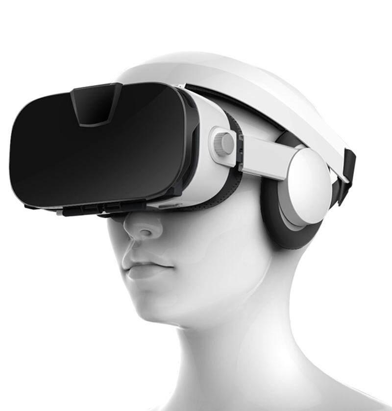 Fiit VR 3F Stereo Video 3D Kính VR Tai Nghe Kính Thực Tế Ảo Thông Minh Google Cardboard Mũ Bảo Hiểm VR cho 4-6.4 inch Điện Thoại