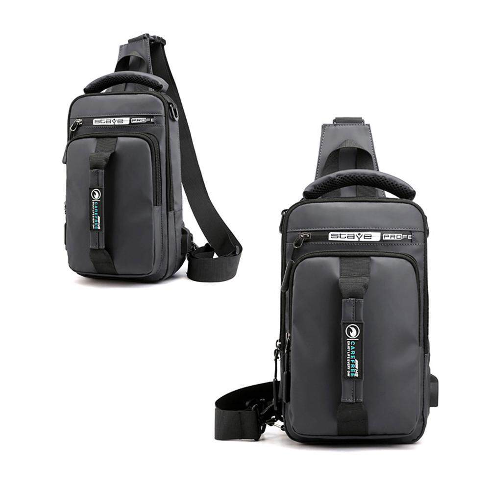OEM [Original] Multi-purpose Business Shoulder Bag Backpack USB Charging Large Capacity Computer Backpack Student Fashion Dual-use Messenger Bag