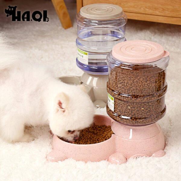 Bát Đựng Nước Cho Chó, Bát Ăn Tự Động Cho Chó Teddy, Bát Đựng Nước Cho Mèo 3. EightL 80%