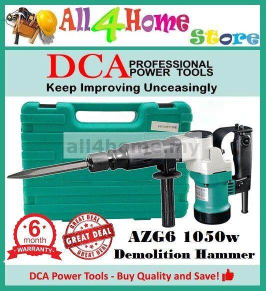 AZG6 DCA 1050W 17mm Hex Percussion Demolition Hammer
