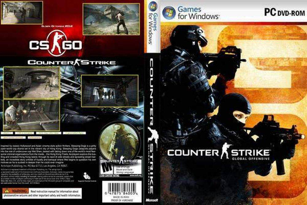 Counter Strike Global Offensive For Pc [dvd] By Nadaz Solution Gamez.
