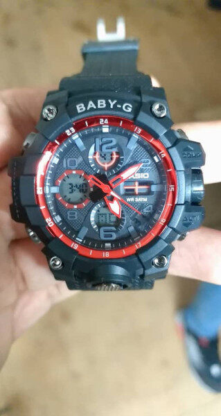 SPECIAL PROMOTION_CASIO_G_SHOCK MUDMASTER DUAL TIME RUBBER STRAP WATCH FOR WOMEN Malaysia
