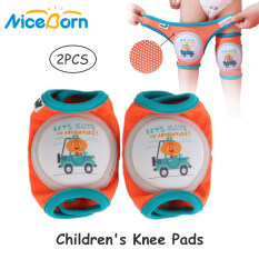 NiceBorn Baby Knee Pads Mesh Breathable Baby Toddler Knee pads Safety Protector Crawling Non-slip Protective Pad for 0-5 years old