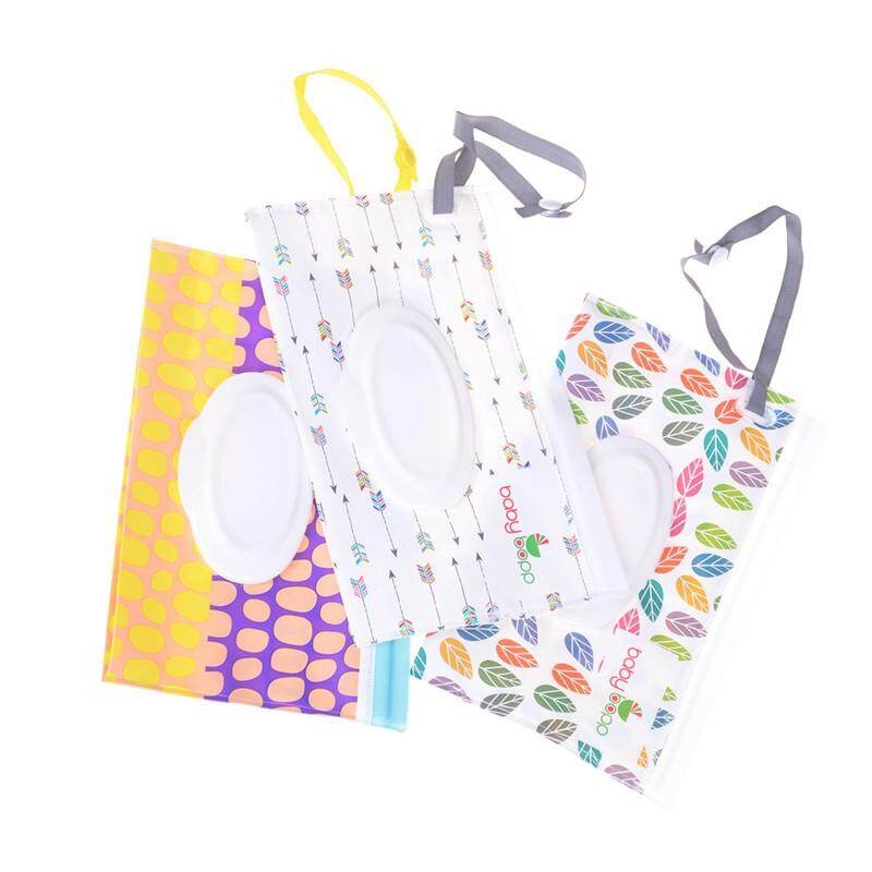 Nappy Changing Mother & Kids Imported From Abroad Eco-friendly Wet Wipes Bag Clamshell Cosmetic Pouch Clutch And Clean Easy-carry Snap-strap Wipes Container Wipes Carrying Case Available In Various Designs And Specifications For Your Selection