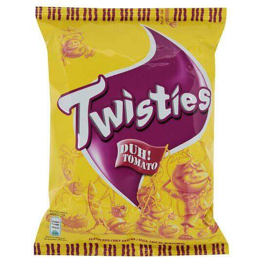 Twisties 65gm each pack-Tomato