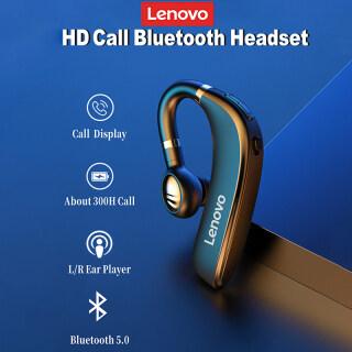 Lenovo HX106 Tai Nghe Bluetooth Pro Móc Đeo Tai Bluetooth Không Dây 5.0 Tai Nghe Kèm Micro 40 Giờ Cho Các Lái Xe Cuộc Họp thumbnail