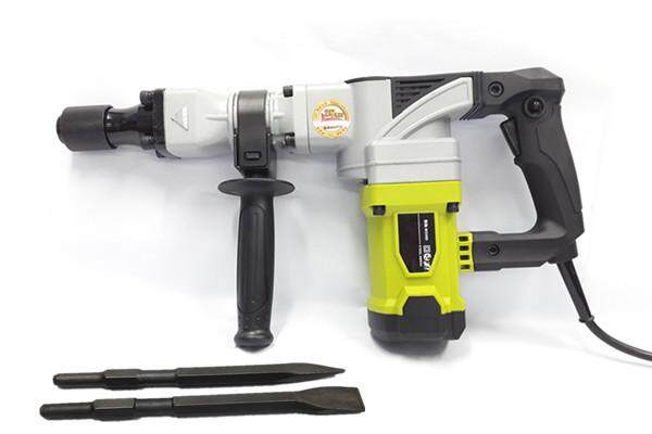 millionhardware - Deshi 0845M 1010W High Quality Powerful Demolition Hammer (free 2 Chisel)
