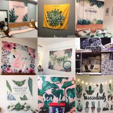 Tấm thảm treo tường trang trí phòng ngủ, phòng khách với chất liệu polyester, mềm, mịn nhiều họa tiết, kích thước 100x175cm