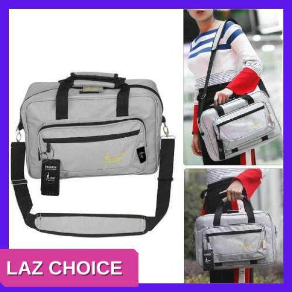 LAZ CHOICE Universal Oboe Clarinet Soft Carrying Bag Backpack Case Sponge Padding with Shoulder Strap (Grey) Malaysia