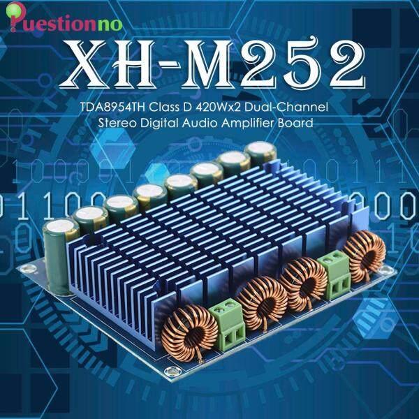 Bảng giá XH-M252 2X420W Âm Thanh Nổi TDA8954TH 2 Chip Class D Bộ Khuếch Đại Âm Thanh Kỹ Thuật Số HIFI Công Suất Siêu Cao