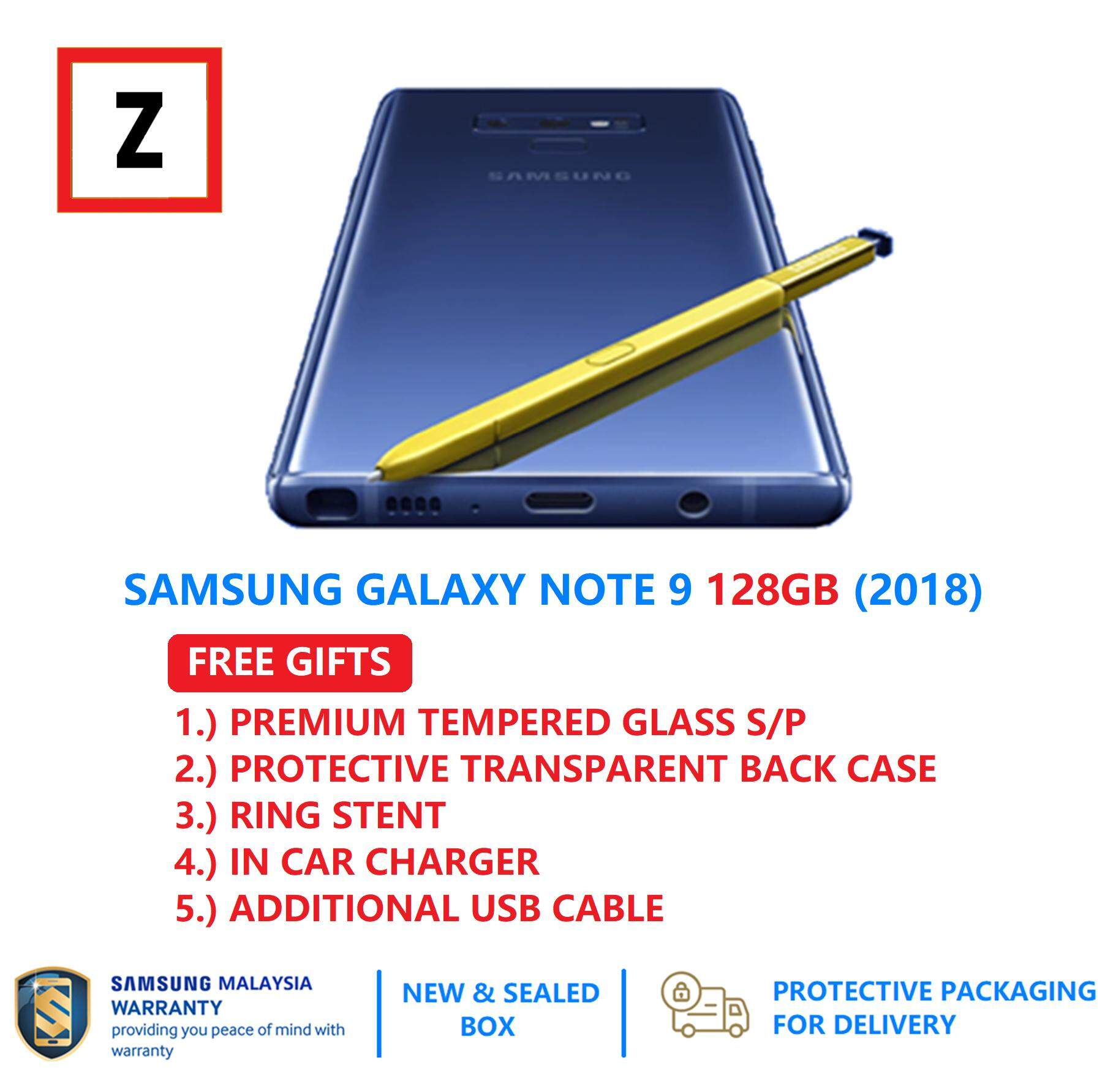 Free Shipping Samsung Galaxy Note 9 128gb Dual Sim 6gb Ram 128gb 4g Lte Ip68 100 Samsung Malaysia Set