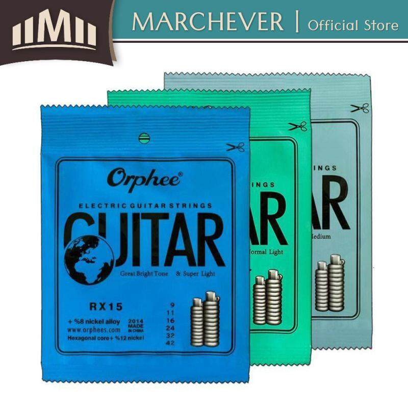 Orphee Acoustic Guitar String RX-15, RX-17, RX-19 (6 Pcs/Set) Malaysia