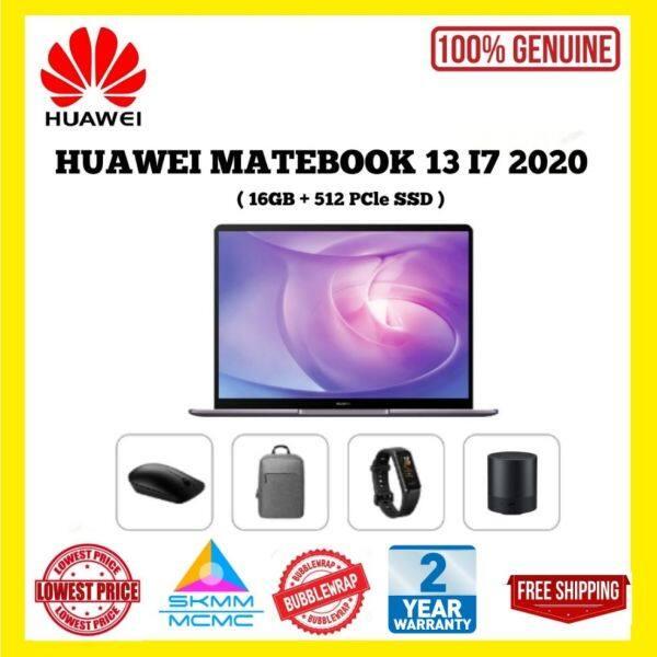 Huawei Matebook 13 I7 2020 ( 16GB + 512 SSD ) ~ 100% Original Set Malaysia