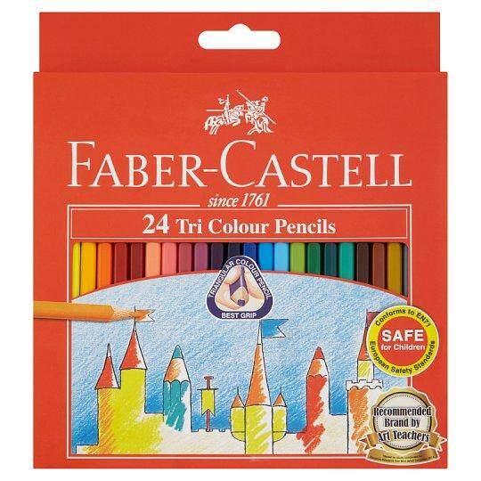 Faber-Castell Colour Pencils 24's