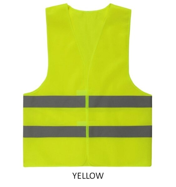 VIPPIE Reflective High Visibility Vest Safety Waistcoat Jacket