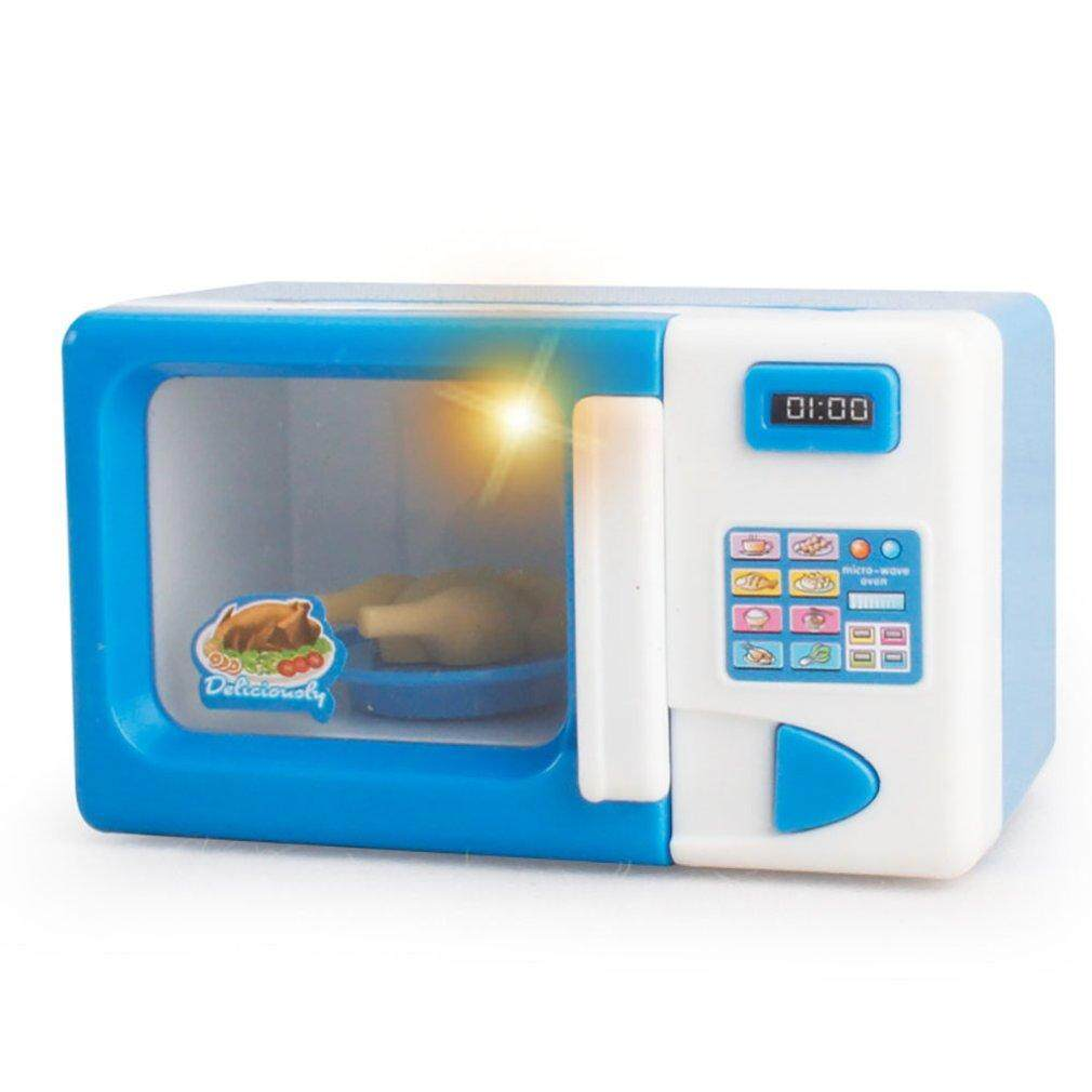 Allwin Microwave Oven Pretend Play Appliance Children Pretend Play Kitchen Toys