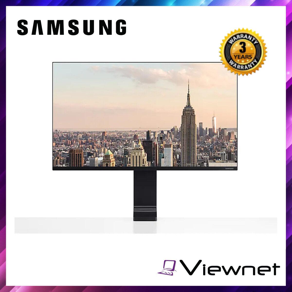 Samsung 27  LS27R750QEEXXM 144Hz WQHD Clamp-Type Monitor - Space-Saving Design Malaysia