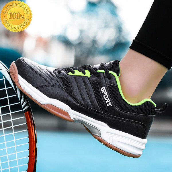 Giày Cầu Lông Cho Nam, Giày Thể Thao Tập Luyện Thoáng Khí Chống Trơn Trượt Nhẹ