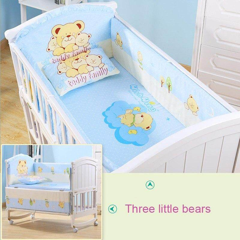 Crib Bumpers Kit Cotton Baby Suppliers Safety Guard Crib Bumper Bedding Mother & Kids Baby Bedding