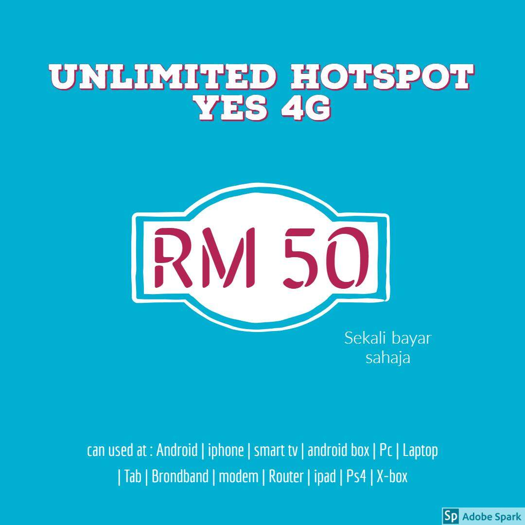Yes 4G Prepaid Cards price in Malaysia - Best Yes 4G Prepaid Cards
