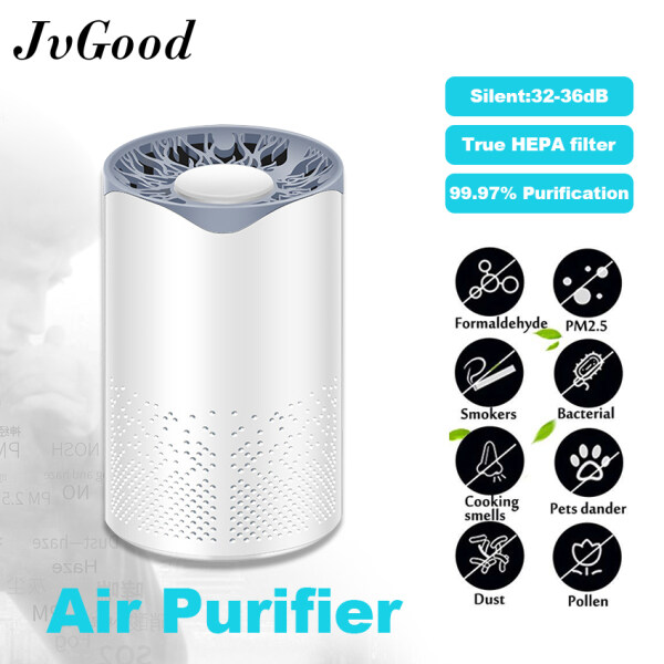 JvGood Smart Air Purifier for Living Room UV Air Purifier Air Freshener Air Cleaner UV Sterilization Air Purifier Filter for Home/Office