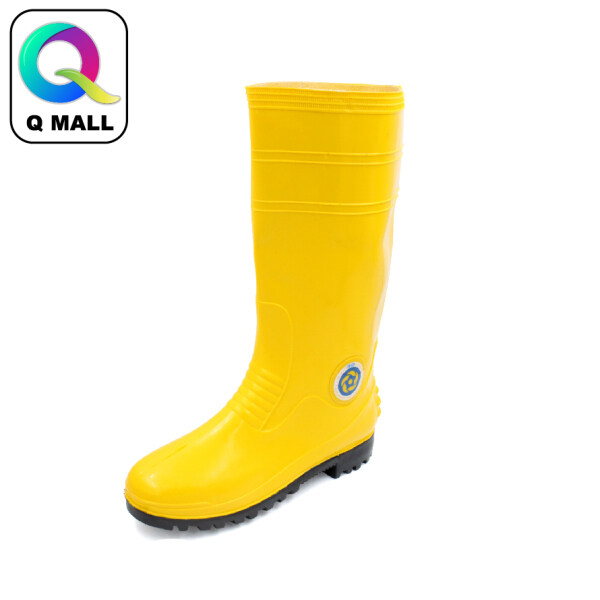 Korakoh High Quality Safety Shoes Plastic Rubber Boots 37-45 Size - Yellow