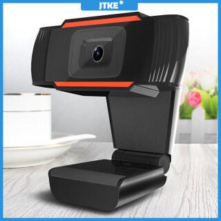 Webcam Máy Tính JTKE USB Full HD 1080P, Webcam Kỹ Thuật Số Kèm Micro Cho Laptop, Máy Tính Bảng, Máy Ảnh Có Thể Xoay thumbnail