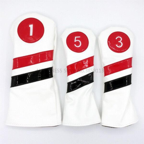 3 Cái/lốc Dễ Dàng Bọc Golf Golf Bao Gồm Cho Điều Khiển Gậy Gỗ Câu Lạc Bộ Set Heads #1 #3 #5 Cho Nam Nữ