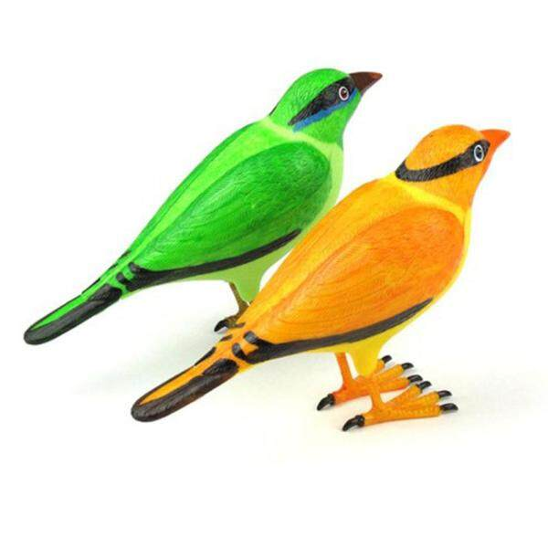 Unique Design Wireless Digital Jingle Bell Clear Simulation Bird Sound Home Green Remote Control Chime Doorbell