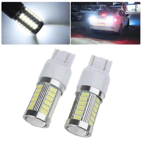 1 Cái Đèn T20 7443 5630 5730 33SMD Đèn LED Bóng Đèn Phanh Đuôi Xe DRL