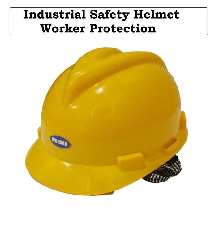 [Ready-Stock] Industrial Safety Helmet Worker Protection // Topi Keledar Untuk Keselamatan