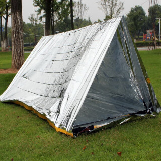 AYUYTDB Foldable Tent Emergency Survival Hiking Camping Shelter Outdoor Waterproof thumbnail