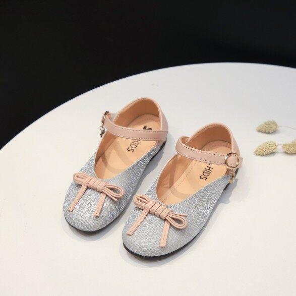 Giày Công Chúa Rayeshop Đơn Giản Cho Bé Gái Giày Đi Hàng Ngày Thắt Nơ Đính Pha Lê Lấp Lánh Cho Trẻ Mới Biết Đi giá rẻ
