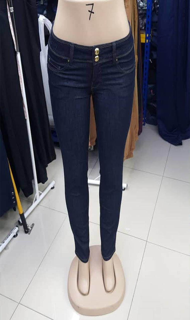 Women Skinny Fit Mid-Rise Clean Look Jeans / Women Jeans in Malaysia / Fast