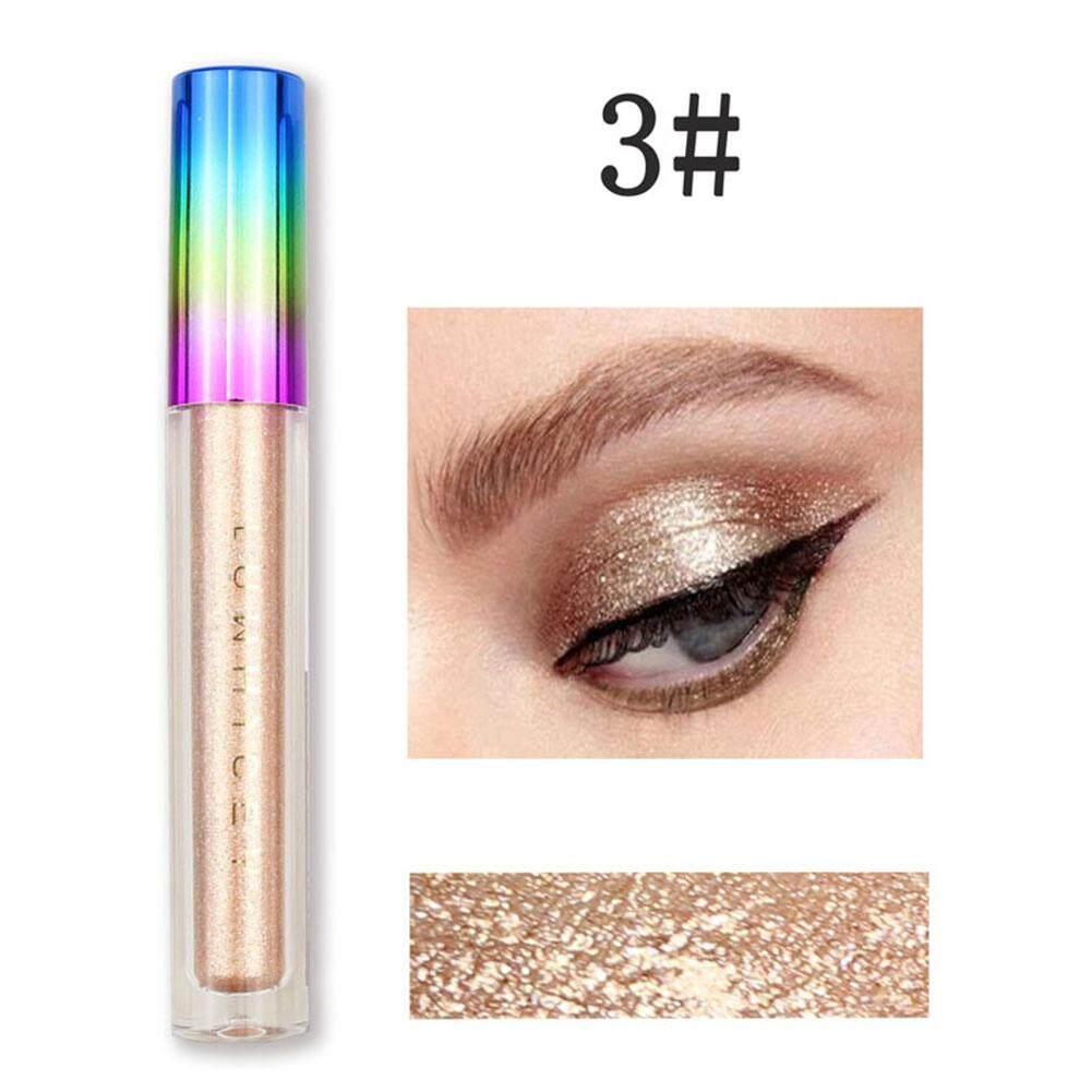 Luwhicey Warna Cairan Glitter Eyeliner Air Pemulas Mata Perona Mata Berkilau CairIDR36000. Rp 36.000
